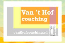 Banner - Sponsoren - Van het Hof coaching